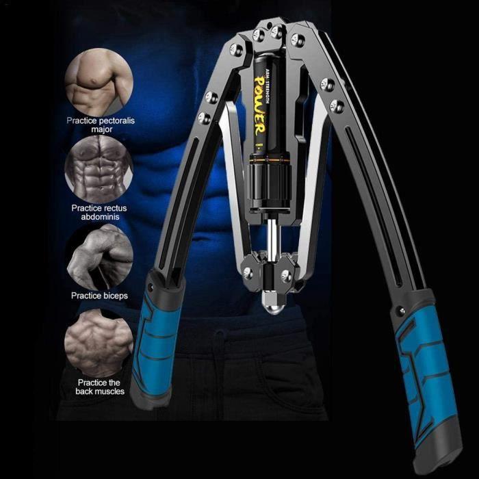 Appareil d'exercice pour les bras, système d'entraînement 4 en 1 Power Twister pour la poitrine, réglable de 10 kg à 200 kg