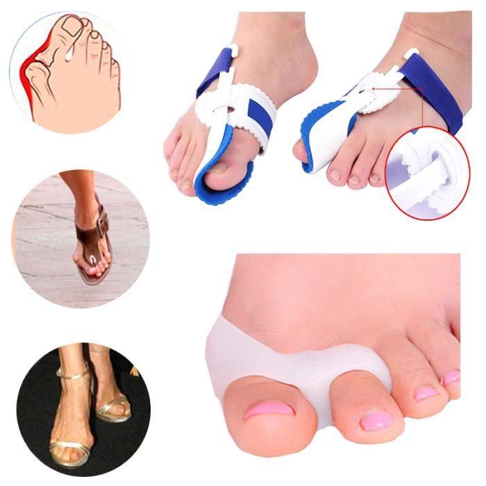Ages4 Os pouce lisseur Hallux Valgus Correction chevauchement orteil séparateurs Bunion correcteur soins des pieds pédicure outils
