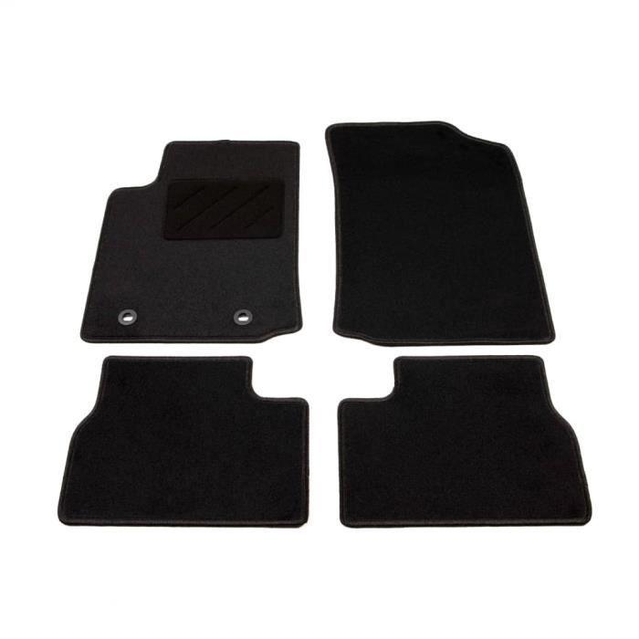 ❤Moderne Lot de 4 Tapis de voiture Mode - Tapis d'auto - Tapis de sol pour Citroen C3 ��14950