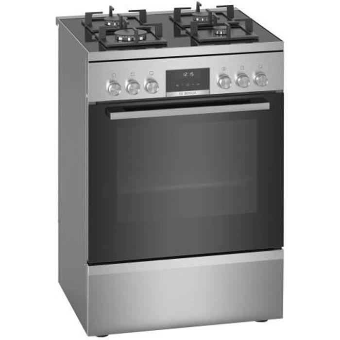 Bosch Serie 6 HWS59IE50 Cuisinière pose libre largeur : 60 cm profondeur : 60 cm hauteur : 85 cm avec système auto-nettoyant…