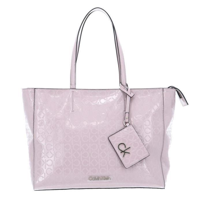 Calvin Klein CK Must EM Shopper M Silver Pink [97485]