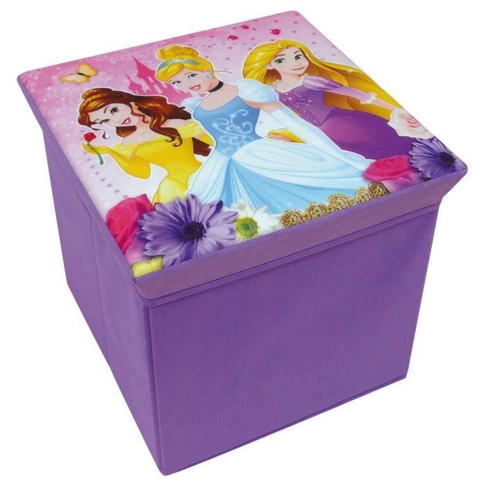 Fun House Disney princesses tabouret de rangement pour enfant