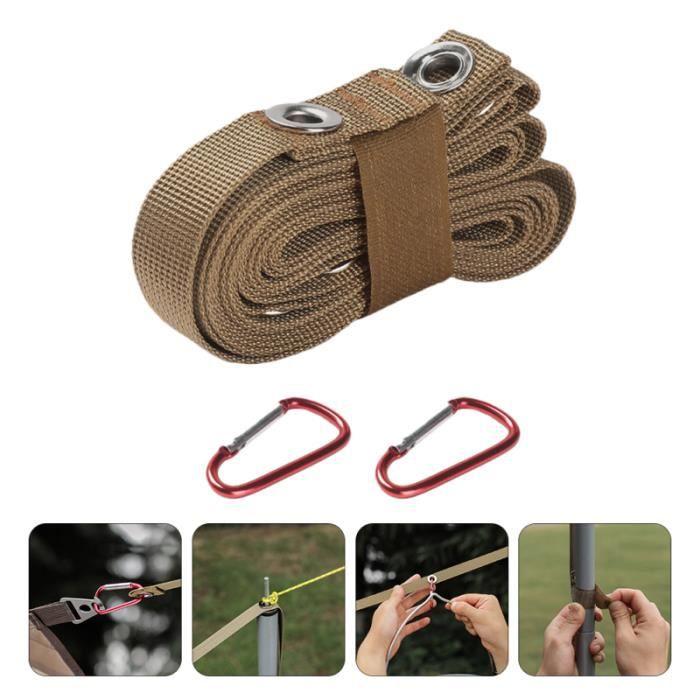 1 SET FOURNITURE DE CAMPING CLAPPING LUYRES fil a linge - tancarville - etendoir - sac de sechage materiel soin du linge