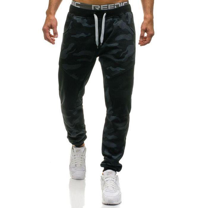 Pantalons Décontractés Pour Hommes Pantalons Droits Pantalons De Camouflage Pantalons De Survêtement En Coton Survêtement Jogger