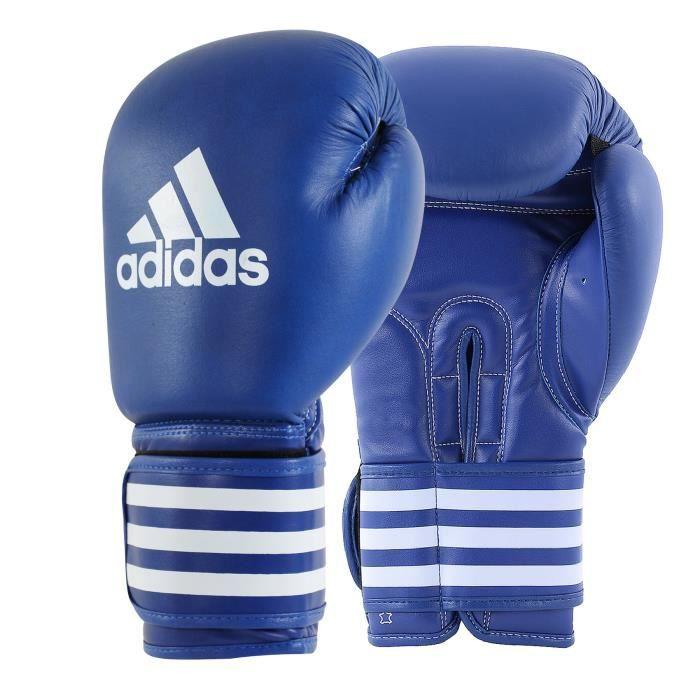 Gants de boxe ULTIMA cuir adidas Bleu 16oz