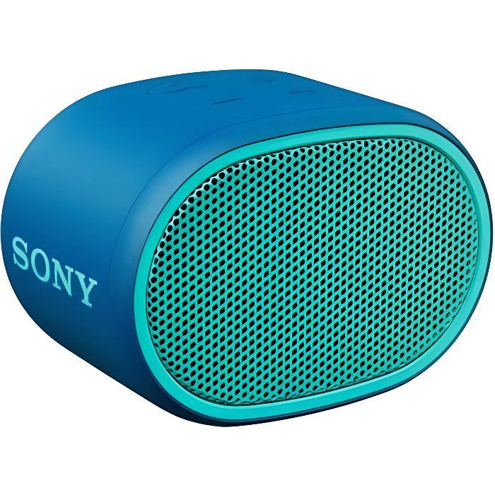 SONY SRSXB01L.CE7 Enceinte Bluetooth Entry Wireless - Bleu