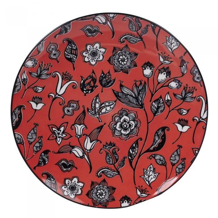 Assiette plate 27 cm Agadir (Lot de 6) NEURE Multicolore