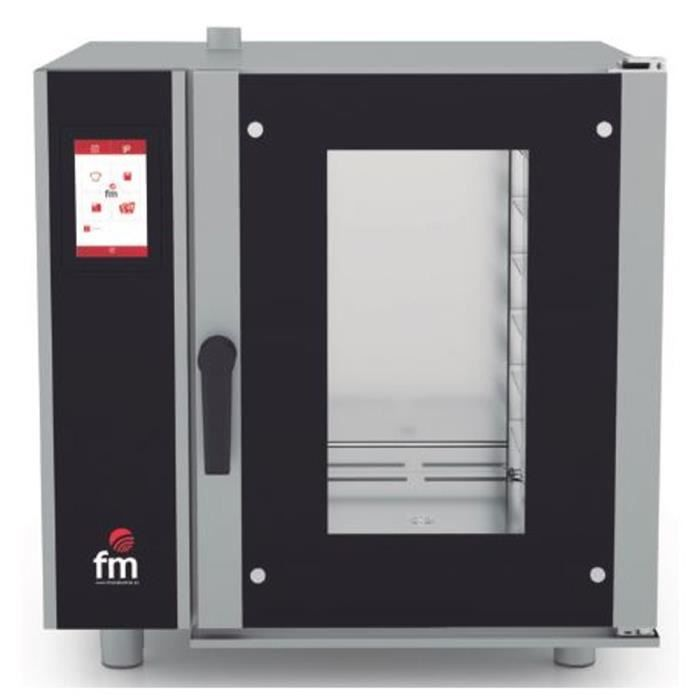 Four mixte à injection (vapeur + air pulsé) GN 1-1 à écran tactile - L725 x P815 x H690 mm - FM