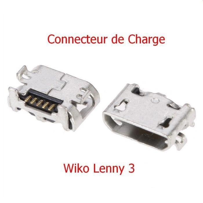 Connecteur de Charge Micro USB WIKO LENNY 3 - 100% Original