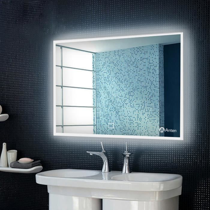anten 19w mural miroir led lampe de miroir clairage en carr pour salle de bain miroir. Black Bedroom Furniture Sets. Home Design Ideas