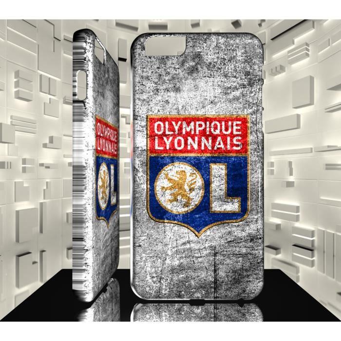 Coque Iphone 6 Plus Logo Football Club OL Lyon Olympique Lyonnais ...