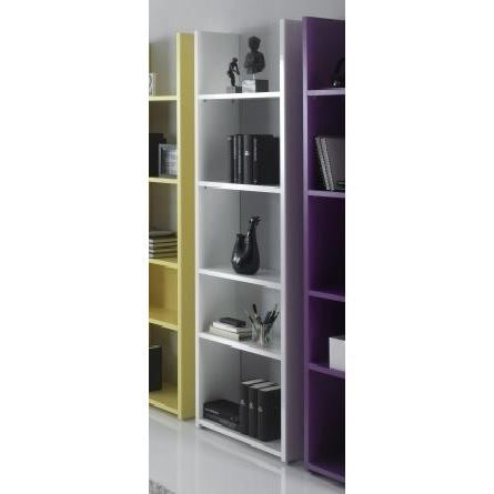 etagere biblioth que cubo 4 blanc laqu achat vente meuble tag re etagere biblioth que cubo. Black Bedroom Furniture Sets. Home Design Ideas