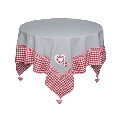 Nappe carr e 150x150 cocotte achat vente nappe de for Table carree 150 x 150