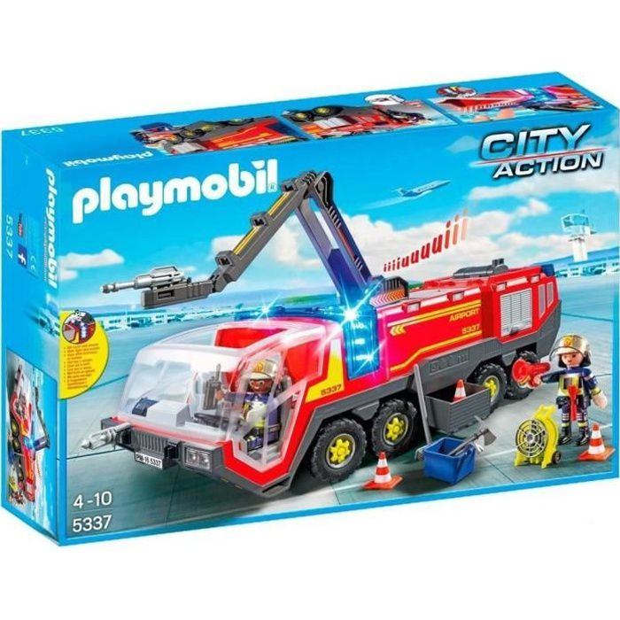 playmobil city action les pompiers achat vente playmobil city action les pompiers pas. Black Bedroom Furniture Sets. Home Design Ideas