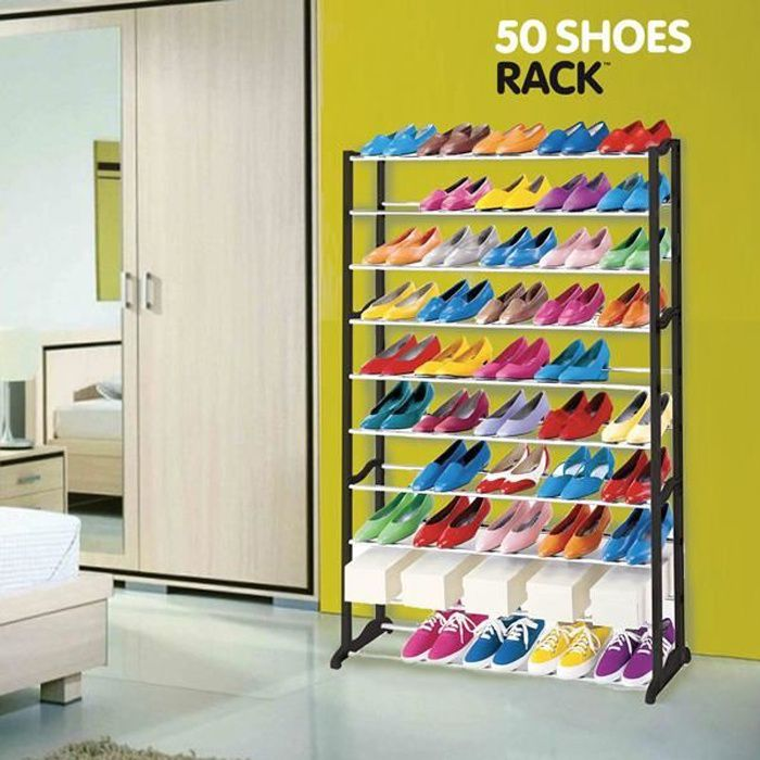 meubles chaussures 50 paires achat vente meuble. Black Bedroom Furniture Sets. Home Design Ideas