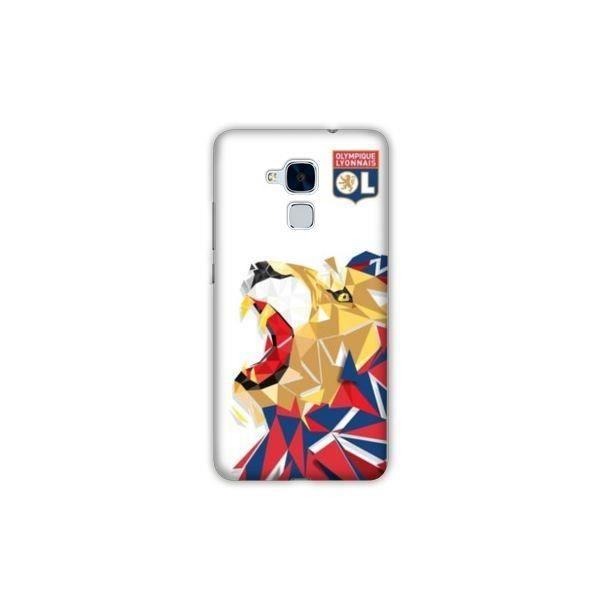 Coque Huawei Honor 5X License Olympique Lyonnais OL - lion color