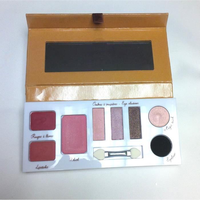 PALETTE DE MAQUILLAGE  COULEUR CARAMEL Palette beauty essential 1 BIO
