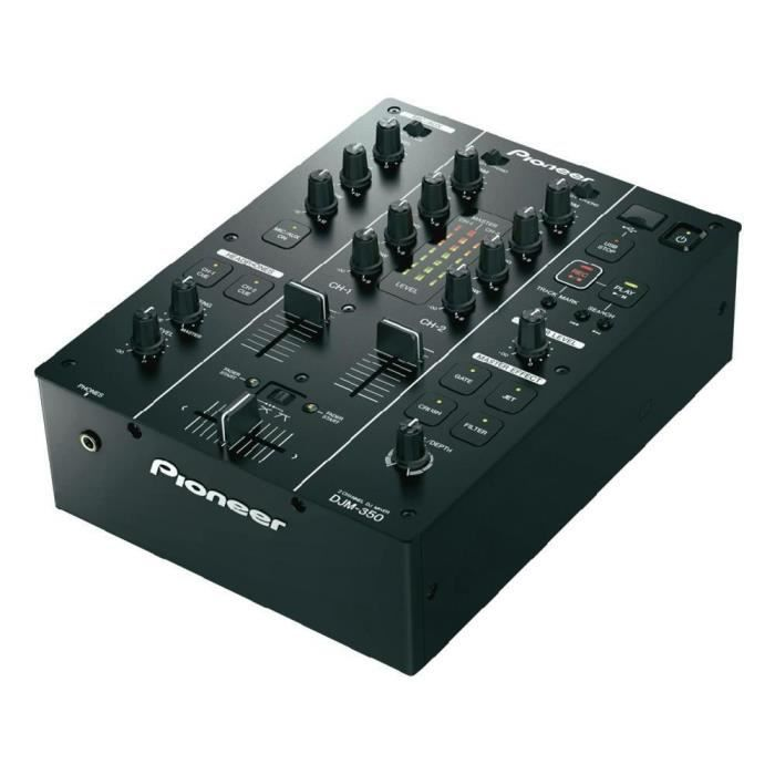 table de mixage pioneer dj djm 350 table de mixage avis et prix pas cher cdiscount. Black Bedroom Furniture Sets. Home Design Ideas