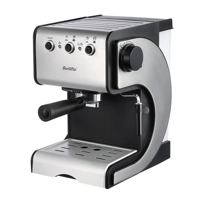 COMBINÉ EXPRESSO CAFETIÈRE BARSETTO machine a cafe expresso multifonctions de