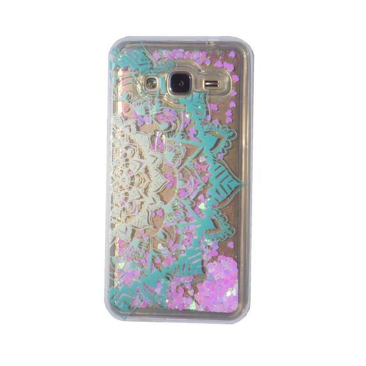 coque samsung galaxy j1 2016 paillette