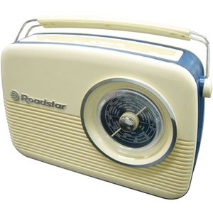 ROADSTAR TRA 1957CR Radio Portable Design Retro Vintage - Taille \