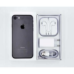 SMARTPHONE RECOND. iPhone 7 32 Go - Noir mat reconditionné