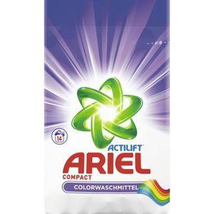 LESSIVE Ariel Actilift lessive en poudre Compact Colorwasc