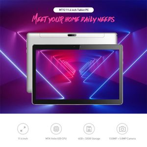 TABLETTE TACTILE 11,6 pouces WiFi Tablet PC Android 8.1 CPU Deca-co