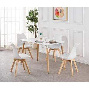 Table Et Chaise Scandinave