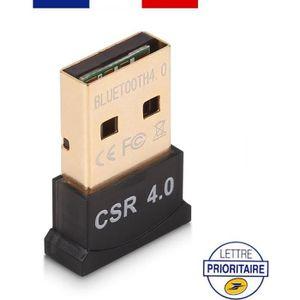ADAPTATEUR BLUETOOTH MINI CLÉ USB ADAPTATEUR TRANSMETTEUR BLUETOOTH V4.