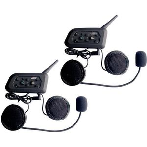 INTERCOM MOTO 2 x Intercom Moto Vnetphone V6-1200 Sans Fil Radio