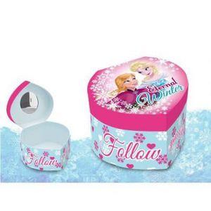 OBJET DÉCORATIF Boîte à bijoux Coeur Reine des Neiges
