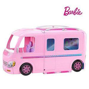 POUPÉE Barbie Mobilier Camping-Car Transformable pour pou
