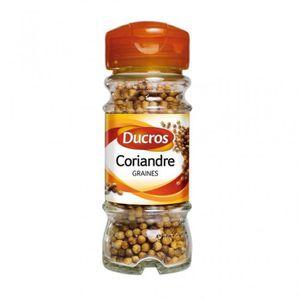 EPICE - HERBE Ducros Coriandre Graines 22g (lot de 3)