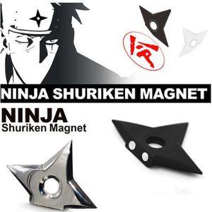 TERRAIN - NATURE 2 Pcs/set Cool Naruto Ninja Kunai Shuriken Aimants