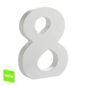 7 Chiffre en bois 50 cm