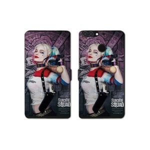 Coque portefeuille harley quinn
