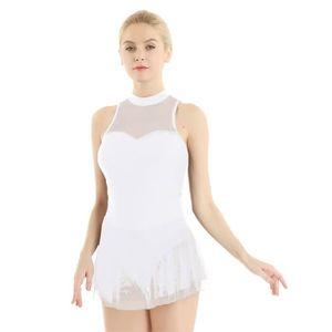 TUTU - JUSTAUCORPS Femme Justaucorps de Danse Tutu Ballet Robe Danse