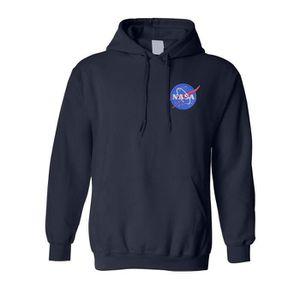 SWEATSHIRT Sweatshirt UMCRV NASA sweat à capuche brodé Espace