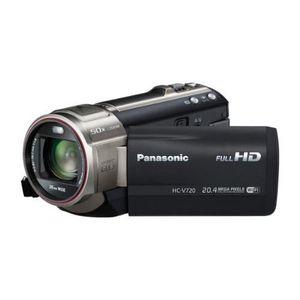CAMÉSCOPE NUMÉRIQUE Panasonic HC-V720 - Caméscope - Haute définitio…