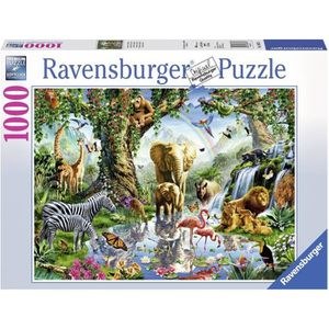PUZZLE RAVENSBURGER Puzzle 1000 p - Aventures dans la jun