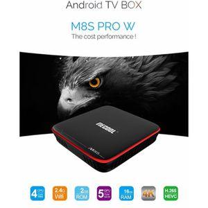 BOX MULTIMEDIA M8S 4K2g/16 g Android TV Box Ott Kodi 4 k HD Andro
