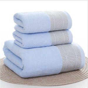 SERVIETTES DE BAIN STOEX® Lot de 1 draps de bain et 2 serviettes de t