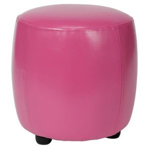 pouffe rose achat vente pouffe rose pas cher cdiscount. Black Bedroom Furniture Sets. Home Design Ideas