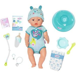 POUPÉE Zapf BABY born Soft Touch Boy, Multicolore, Mâle,