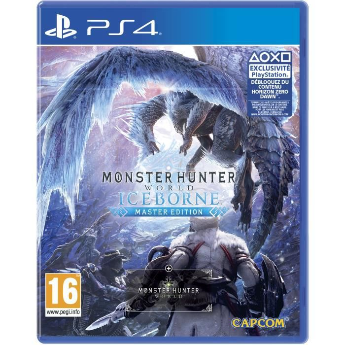 Monster Hunter World : Iceborne Master Edition Jeu PS4