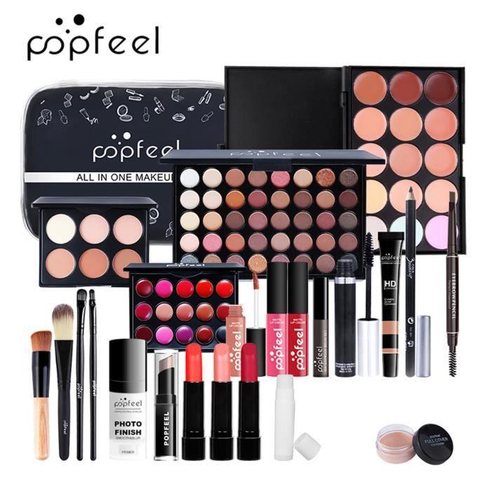 Maquillage Set Femme Débutant Etudiante Novice Ensemble Complet De Maquillage Léger 24pcs ZHO201230004