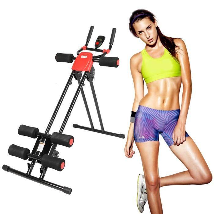Avec 6 Niveaux de Résistance Incliné Appareil Abdominaux Machine Fitness