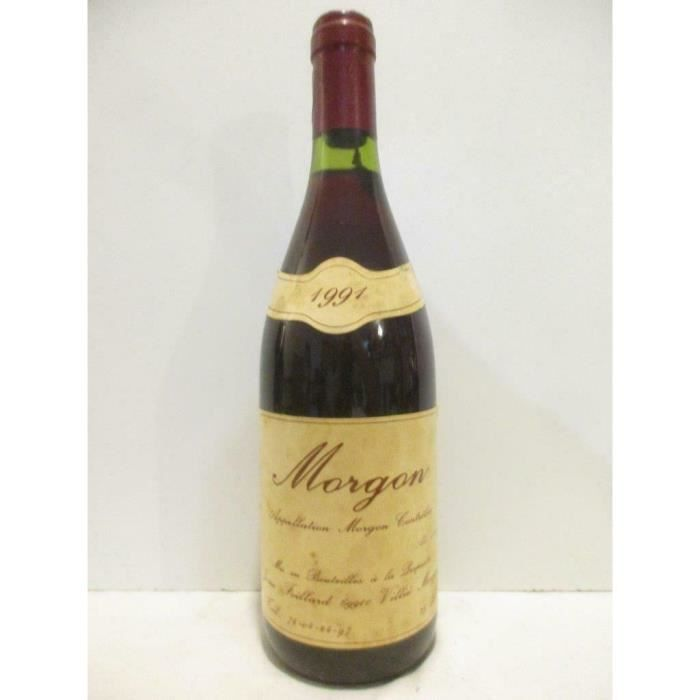 morgon jean foillard Rouge 1991 - beaujolais