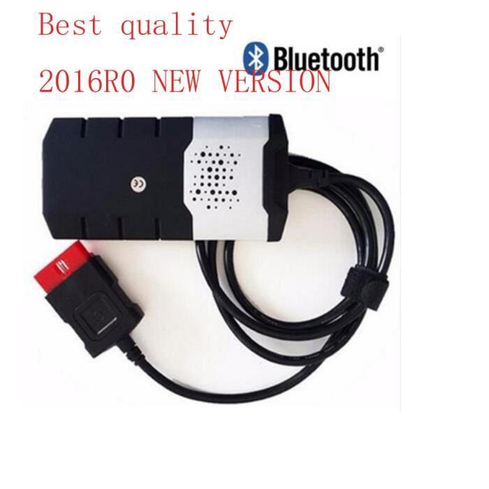 Version 2016R0 livraison gratuite Bonne nouvelle Delphis Pro keygen + 2015.R3 Bluetooth VD DS150E CDP pour - Type without bluetooth